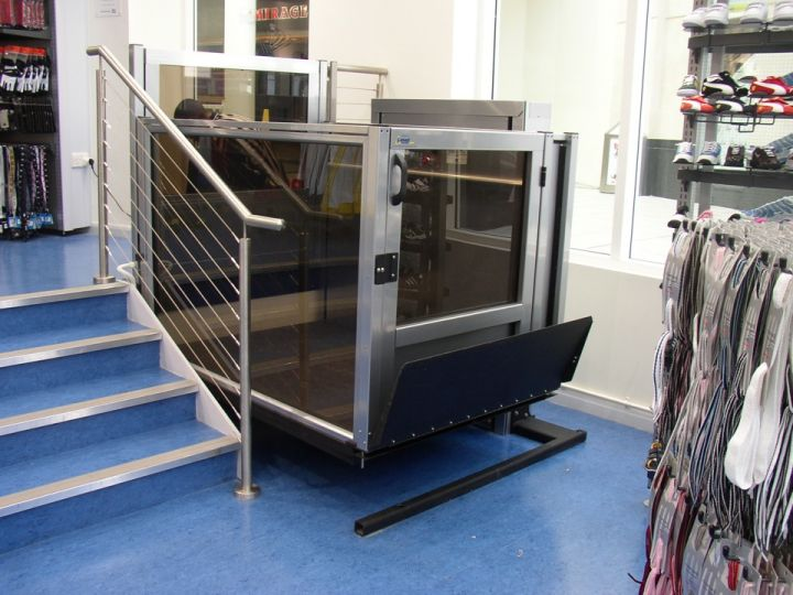 Handi Lift Inc Unenclosed Vertical Platform Wheelchair Lifts