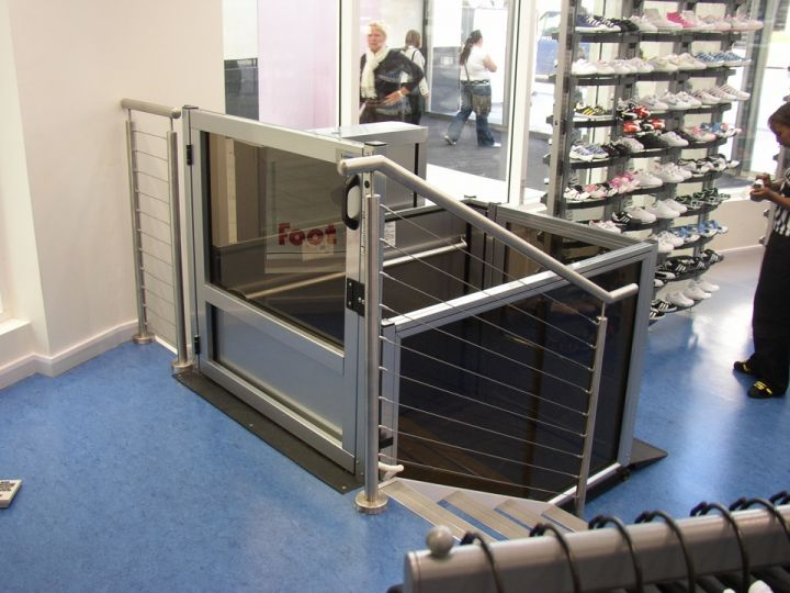 Nice Unenclosed Vertical Platform Wheelchair Lifts